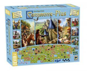 Juego de mesa Carcassonne Plus edición 2017