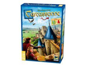 Juego de mesa Carcassonne, excelente juego de colocación de losetas