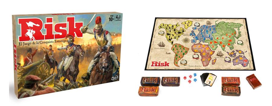 Juego de mesa de estrategia Risk