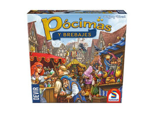 Divertido juego de mesa familiar, Pócimas y Brebajes