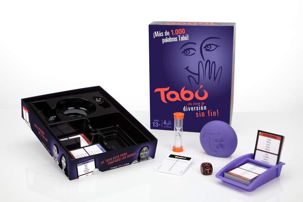 Tabú juego de mesa de las palabras prohibidas