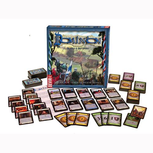 Dominion, juego de mesa de mazo de cartas