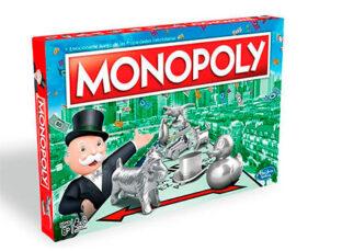 Clásico juego de mesa Monopoly