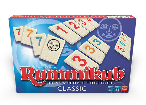 Clásico juego de mesa Rummikub original
