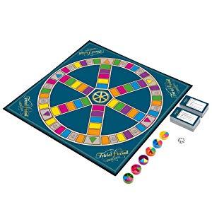 Contenido de la caja del juego de mesa Trivial Pursuit
