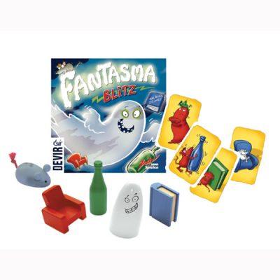 Contenido de la caja Fantasma Blitz
