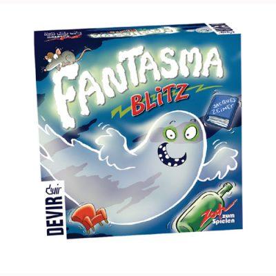 Juego de mesa de reacción Fantasma Blitz