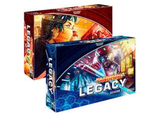 Juego cooperativo Pandemic Legacy Primera Temporada