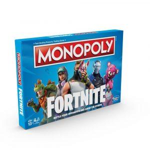 Edición de Monopoly basada en el juego Fornite