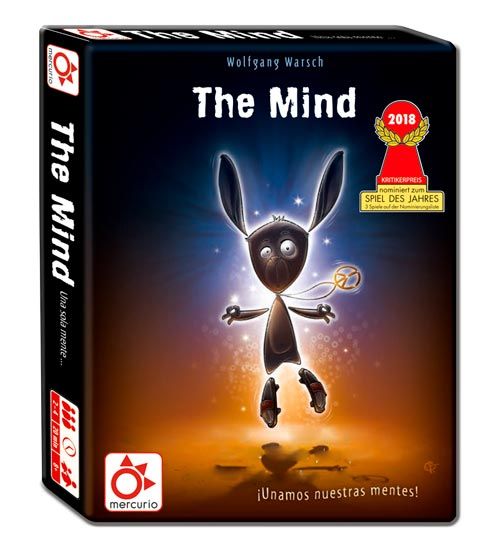 Excelente juego de mesa The Mind