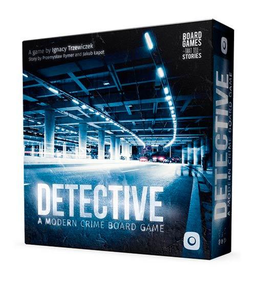 Apasionante juego de mesa de detectives