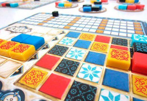Azul – Tablero de mosaico