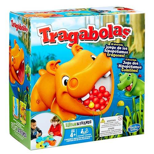 Tragabloas, el divertido juego de los hipopótamos comelones