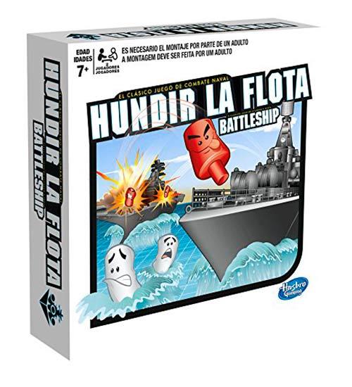 Hundir la flota, histórico juego de batallas de barcos