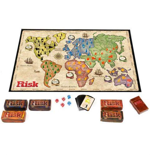 Juego actual: Tablero de juego de mesa del Risk