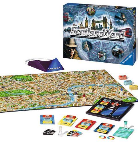 Tablero de juego de Scotland Yard