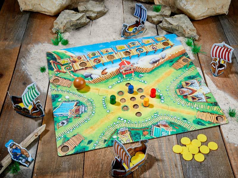 Juego de mesa El valle de los Vikingos