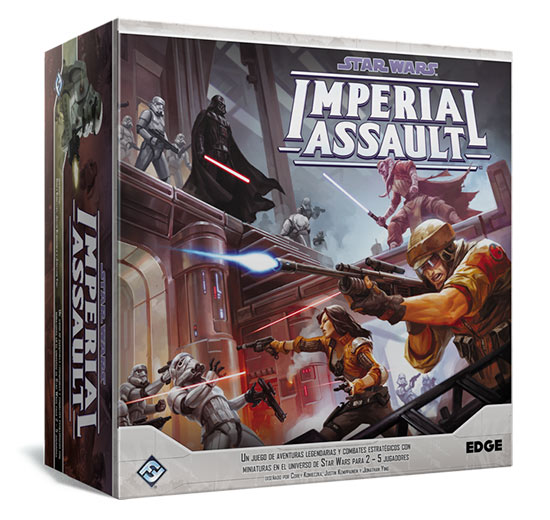 Juego de mesa de miniaturas Star Wars Imperial Assault