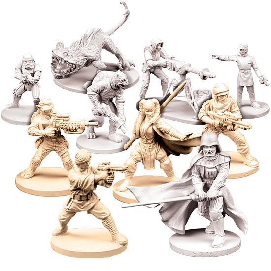 Miniaturas del juego de mesa Imperial Assault