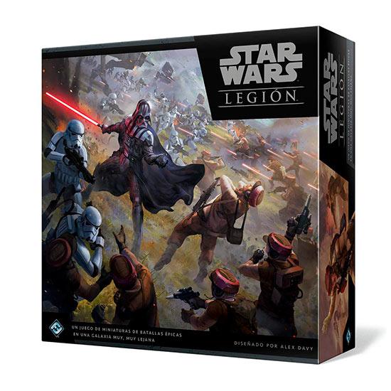 Controla a un contingente de soldados, vehículos y héroes con Star Wars Legion