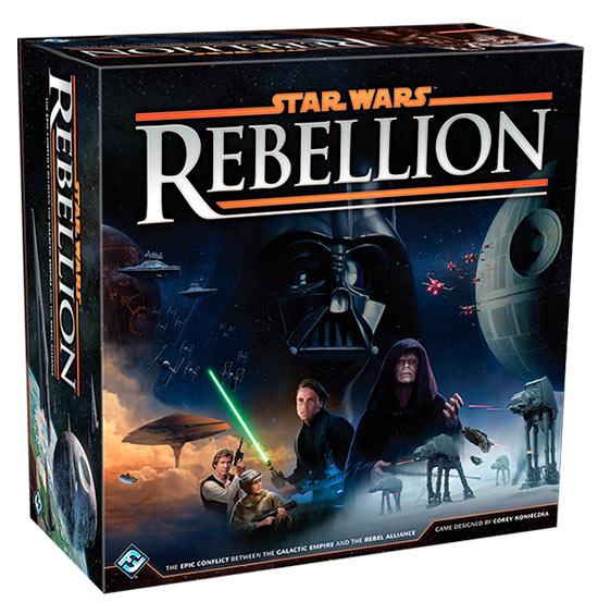 Caja del juego de mesa Star Wars Rebellion