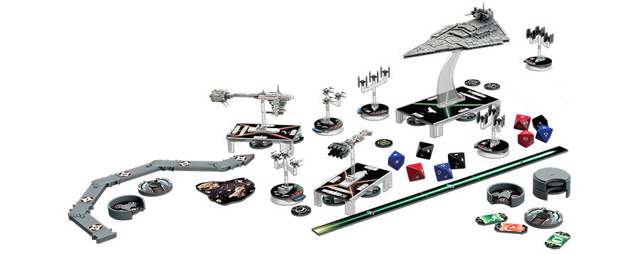Flota de naves star wars Armada