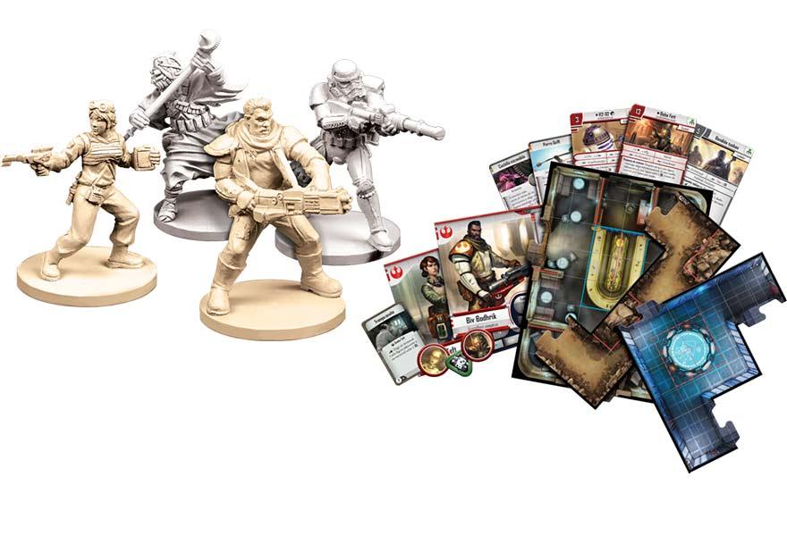 Contenido de la caja Imperial Assault Expansión - Sombras Gemelas