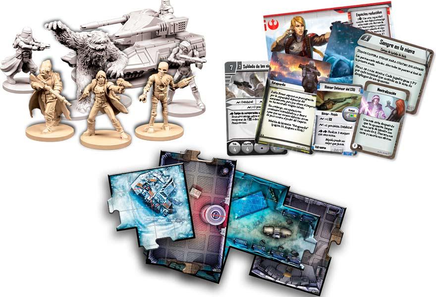 Figuras de expansión Imperial Assault Regreso a Hoth