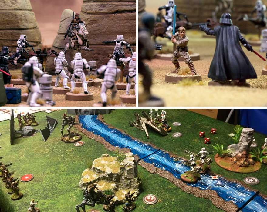 Zona de juego Star Wars Legion