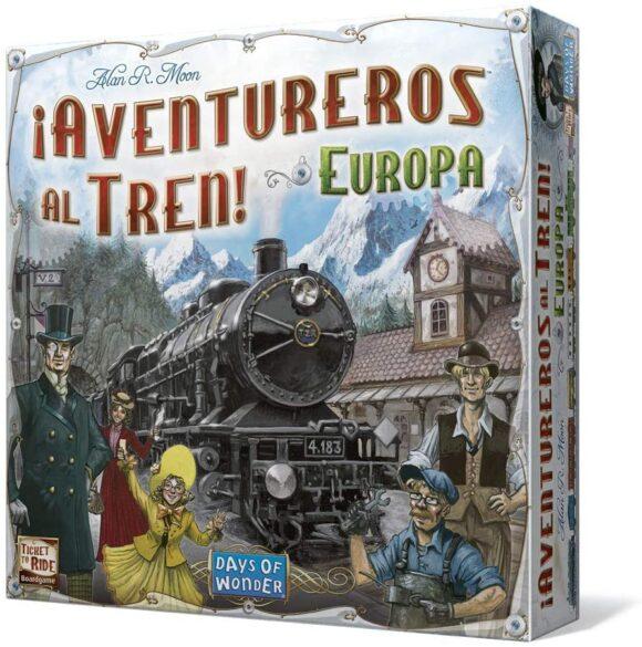 Aventureros al Tren Eurpa