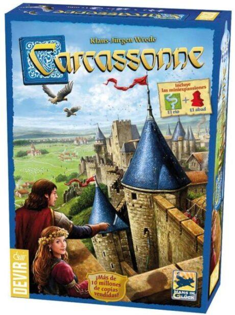 Carcassonne juego de colocación de losetas