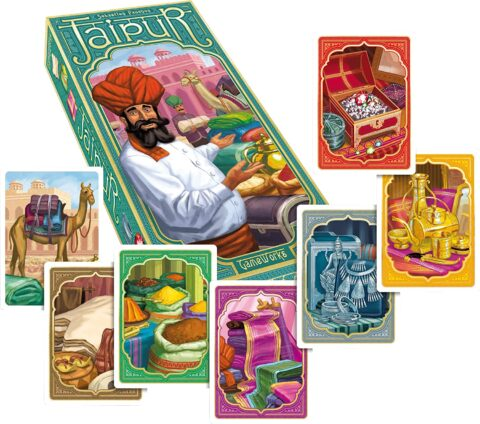 Jaipur el juego de mesa de mercadeo