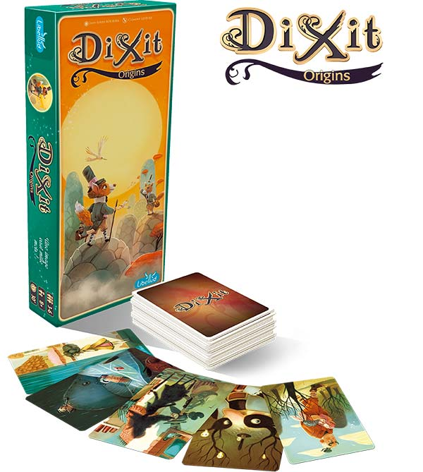 Dixit 4 expansión Origins