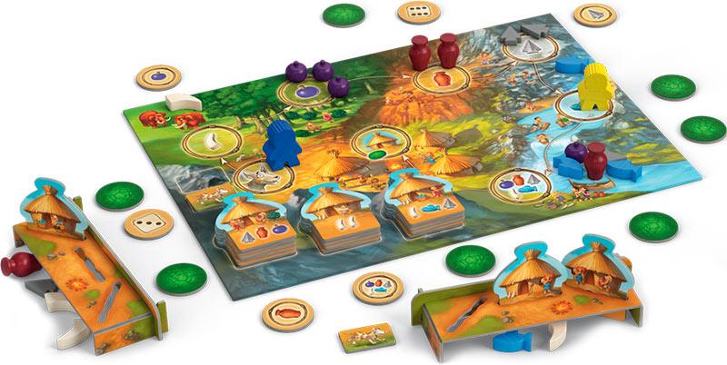 Stone Age Junior zona de juego