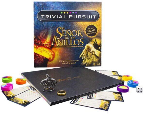 Tablero de juego de Trivial Pursuit El Señor de Los Anillos