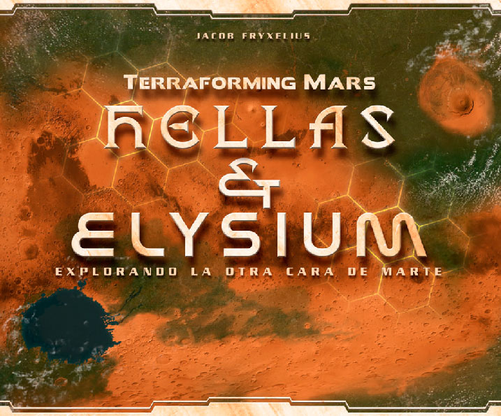 Hellas & Elysium expansion de Terraforming Mars